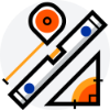 measuring tools icon